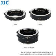 Conjunto de tubo de extensão macro do foco automático da montagem de jjc rf para canon eos r5 r6 rp r quadro completo câmera sem espelho e lentes de montagem de canon rf