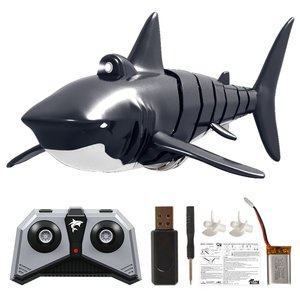 YKS 2.4G 4CH Electric Shark RC Boat Vehicles Waterproof Swimming Pool Simulation Model Toys
