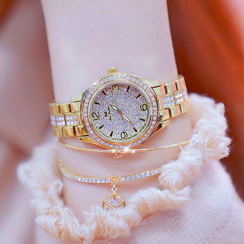 Relogios Femininos 2019 роскошные женские часы бриллиантовый бренд элегантное платье кварцевые часы женские часы со стразами