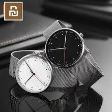 מקורי Youpin TwentySeventeen זוהר עמיד למים אופנה קוורץ שעון אלגנטי 316L ביותר מותגי שעונים עבור גברים נשים