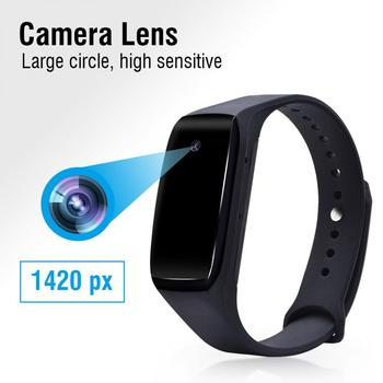 Full HD 1080P smart bracelet camera mini camera bracelet 14.2 megapixel wearable device bracelet cam Fake Watch Mini Camera