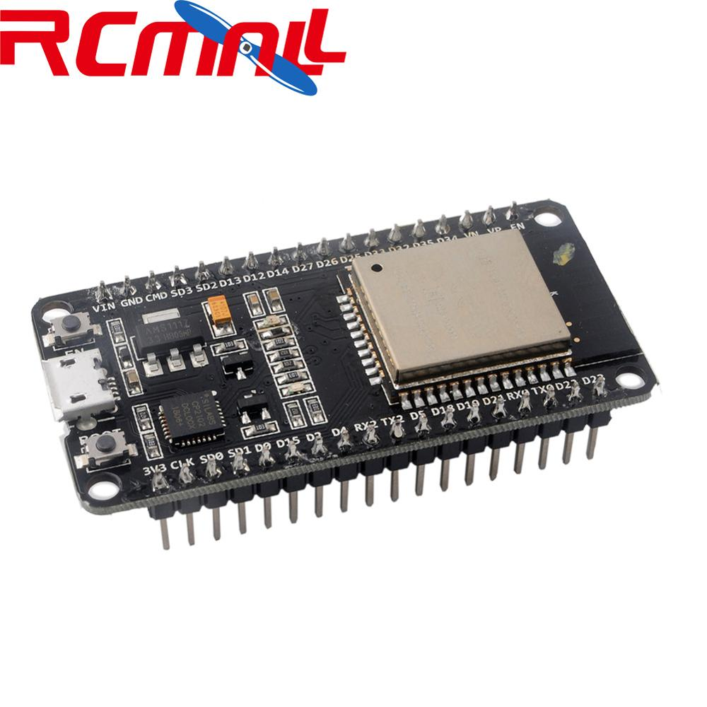 ESP-WROOM-32 Module ESP32S Development Board WiFi+Bluetooth DECKIT V1 IOT Expressif NodeMCU-32S RCmall