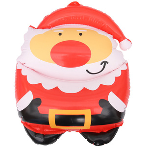 1Pc Inflatable Santa Claus Pendant Creative Adornment Hanging Pendant Lovely Pendant Christmas Pendant Hanging Decoration for Pa