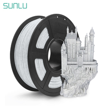 SUNLU 3D Printer Extruder Filament Marble 1kg 1.75mm PLA Filament Printing Materials 3D FDM Printer Consumables 002 only for shipping cost from jiacai printer consumables co limited