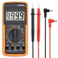 Профессиональный мультиметр, тестер для диодов и сопротивления, переменного/постоянного тока, с батареей