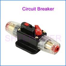 12V 24V DC Circuit Breaker 20A 30A 40A 50A 60A 80A 100A Home Solar System Waterproof Mini Circuit Breaker Reset Fuse Inverter