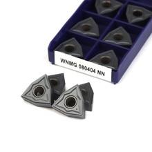 Wnmg080404 nn lt10 inserções de torneamento externo carboneto torneamento ferramentas wnmg080408nn lt10 pvd torno ferramentas fresadoras