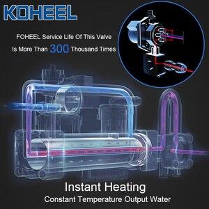 Image 4 - KOHEEL インテリジェント便座電気ビデカバーインテリジェントビデ熱クリーンドライマッサージスマート便座