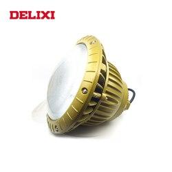 DELIXI BLED61-II explosion proof licht High Power 80W 100W AC 220V ip66 WF1 Lager kronleuchter wasserdichte explosion beweis lampe
