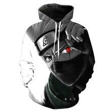 Naruto Sasuke 3d Print Hoodie