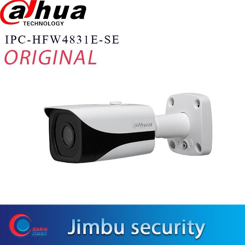 Dahua 8MP IP camera IPC-HFW4831E-SE H.265 WDR IR40m Mini Bullet CCTV Camera IP67 POE Micro SD Memory can upgrade