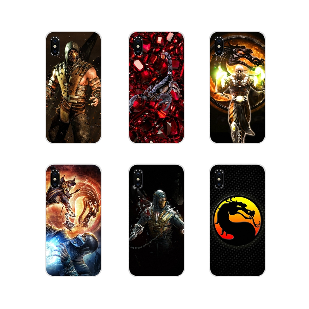 Silicone Phone Case Cover For Oneplus 3T 5T 6T <font><b>Nokia</b></font> 2 3 5 6 8 9 <font><b>230</b></font> 3310 2.1 3.1 5.1 7 Plus 2017 2018 Scorpion In Mortal Kombat image