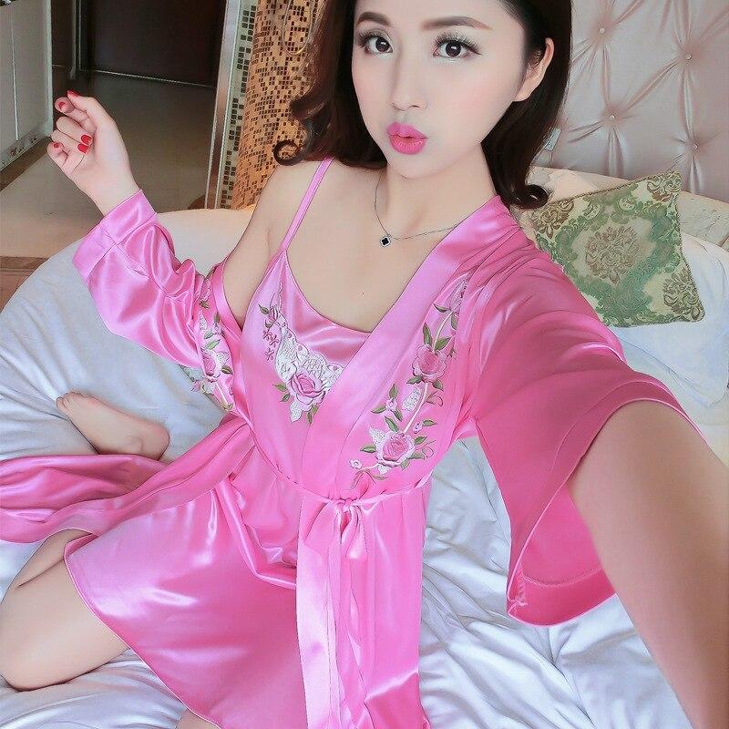 14 Batch Hui Qi Li Viscose Two-Piece Pajamas One Size 15 Yuan Partial No. 631 Medium Pink