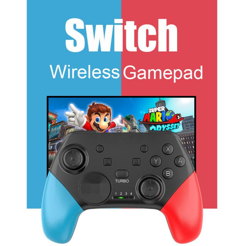 Wireless Bluetooth Gamepad For Switch Pro PC Android Game Joystick Controller For Switch Consoles with 6-Axis Handle