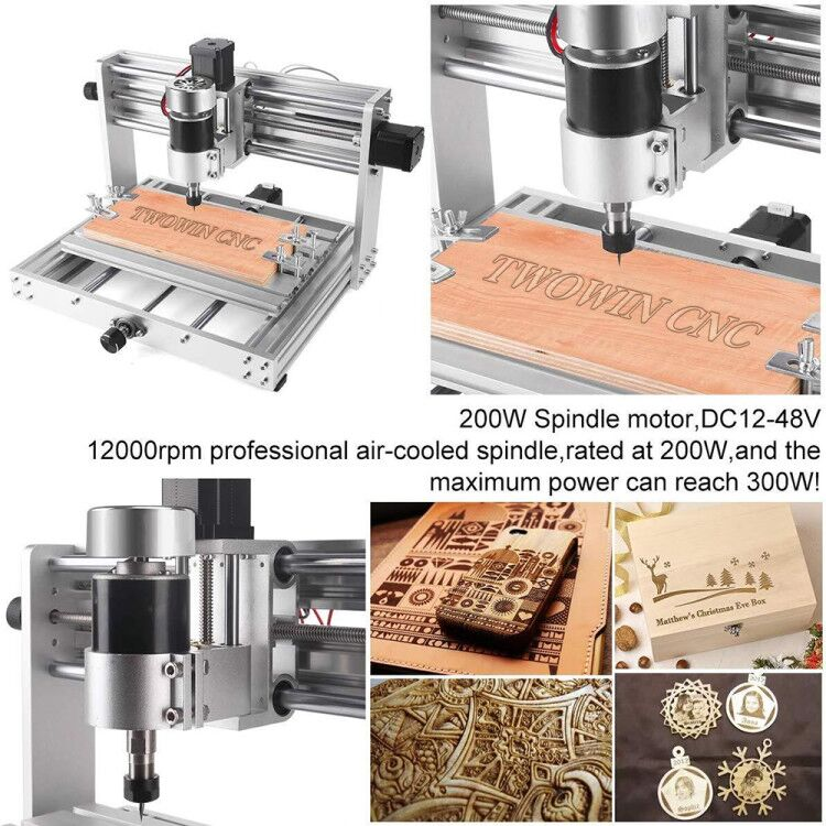 3018 Pro GRBL Control CNC Machine with 200W Spindle 1