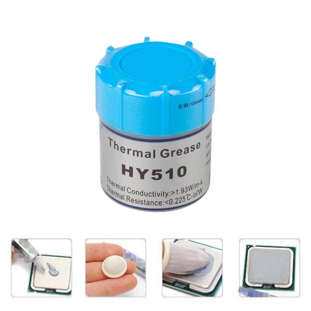 HY510 Thermal Graese Silicone Compound Thermal Paste Heatsink For CPU GPU Chipset Notebook Cooling With Scraper