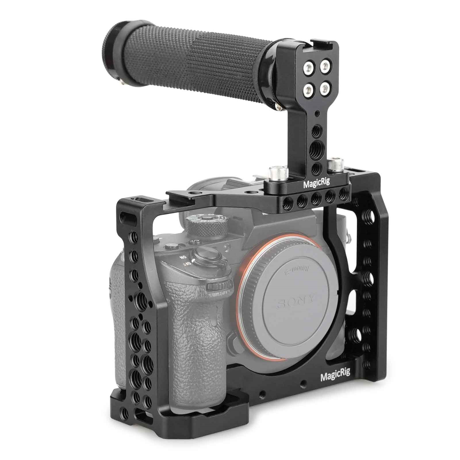 A7S3 A7SIII MAGICRIG Camera Cage with Rotating NATO Handle for Sony Alpha 7SIII