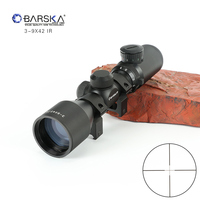 Hunting 3 9X42 Tactical Optic Sight In Riflescope Rifle Scope Sniper Hunting Scopes Airgun Rifle Outdoor Reticle Sight Scope