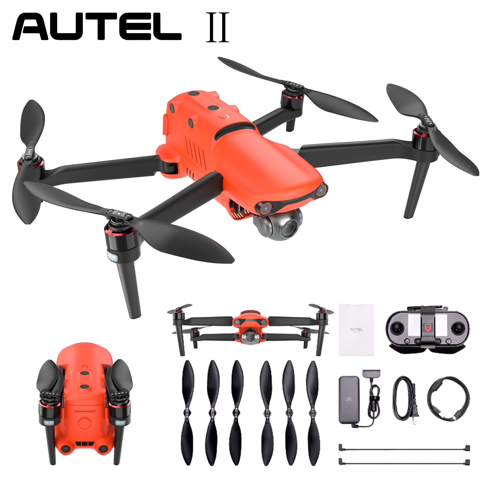 Autel Robotics EVO Drone Quadcopter Camera 8K 60fps Ultra HD Video Photos Portable(Standard Edition)