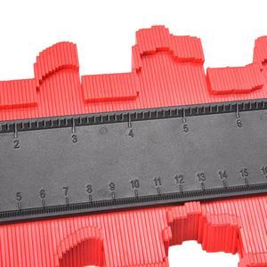 Image 5 - Duplicador plástico da cópia do contorno do contorno do modelo do medidor da ferramenta da medida do perfil do duplicador do contorno de 12/14/25 cm