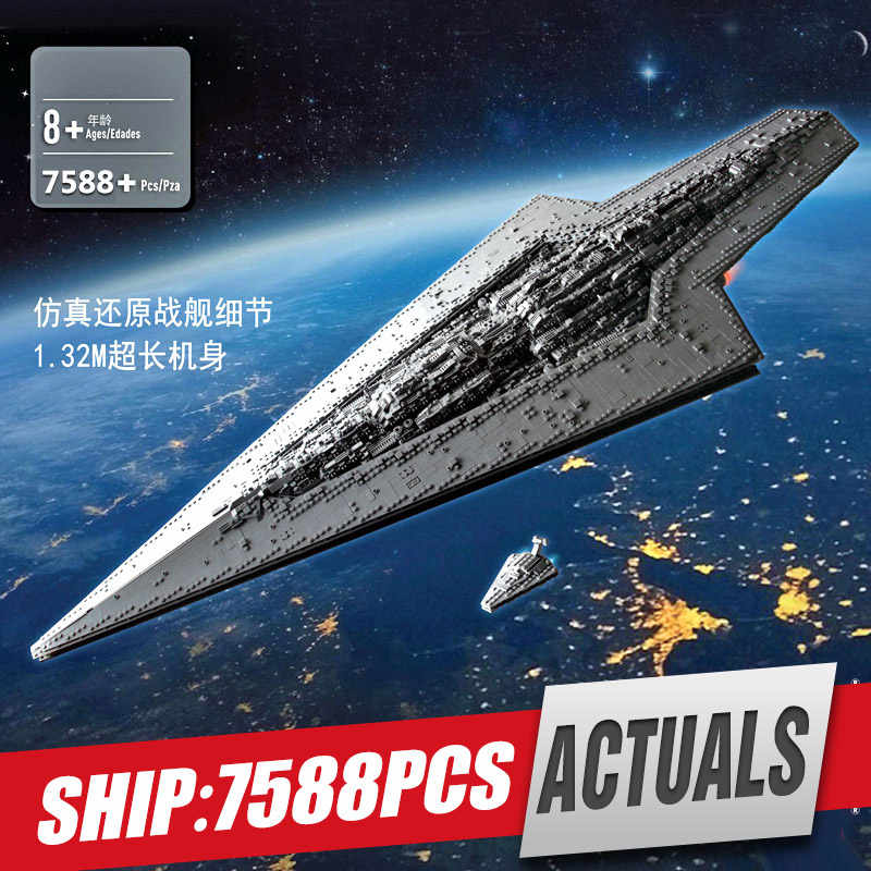 05028 Star Giocattoli Wars Compatibile Con Legoings 10221 Executor Super Star Destroyer Set MOC-15881 Building Blocks Mattoni Bambini Giocattoli