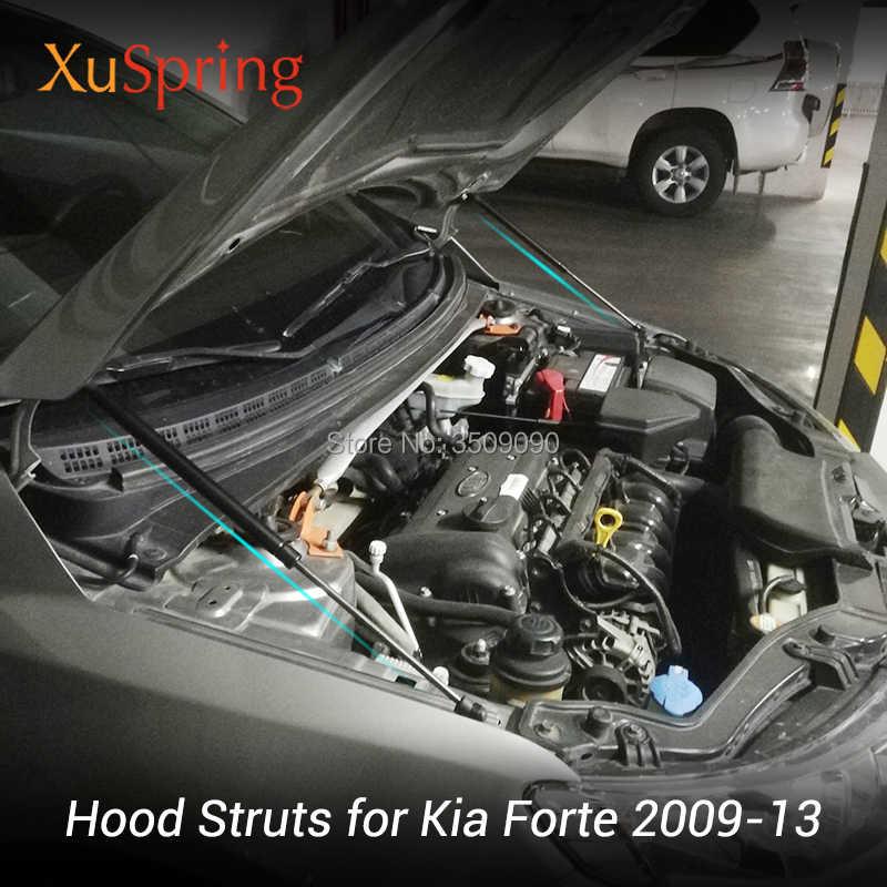 for kia forte cerato koup 2009 2013 naza hood refit bonnet rocks car  styling gas shock lift strut bars spring support rod| | - aliexpress  aliexpress