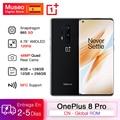 Глобальная Rom Oneplus 8 Pro 5G Смартфон Snapdragon 865 6 78 ''120Hz жидкокристаллический дисплей 48MP Quad камеры IP68 30W Беспроводная зарядка