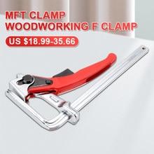 Pince de Rail de guidage rapide, pince F pour charpentier, serrage rapide pour MFT et système de Rail de guidage, outil à main pour le travail du bois, bricolage, 1 pièce/2 pièces