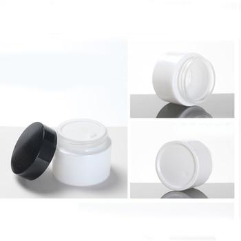Face Skin Care Pearl White Cosmetic Jar,Cream Glass Jar 50g