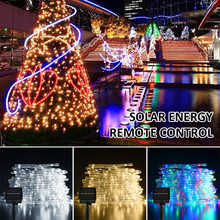 8modes 100led outdoor string…