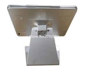 for ipad 2/3/4/air desktop kiosk tilting tablet enclosure secure for ipad desk stand support(China)