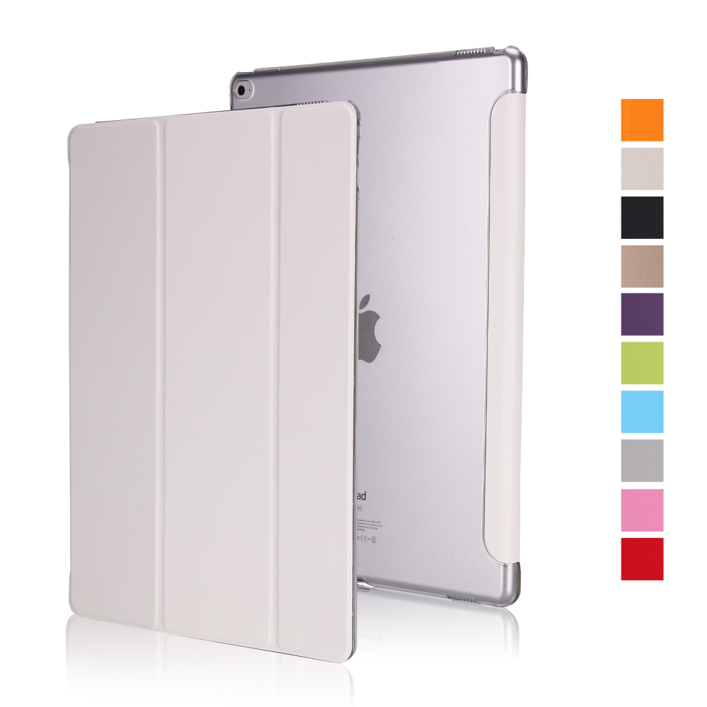 iPad 9.7-inch 2018 Smart Cover Ultra-thin PU Leather Automatic Sleep Wake Case for iPad 9.7 2017 and 2018 6th Generation