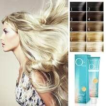 100ml agente de descoramento profissional com leite de peróxido de hidrogênio de longa duração não ferir o creme de desbotamento do cabelo clarear a cor do cabelo