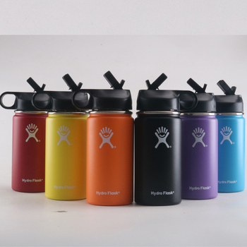 12oz Hydro Flask Water Bottle Vacuum Insulated Wide Mouth Travel Portable Thermal Bottle Stainless Steel  Water Bottle stainless steel water bottle hydro flask water bottle vacuum insulated wide mouth travel portable thermal bottle