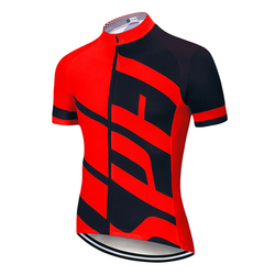 Fualrny Cycling Jersey Man Mountain Bike Clothing Quick-Dry Racing MTB Bicycle Clothes Uniform Breathale Cycling Clothing Wear