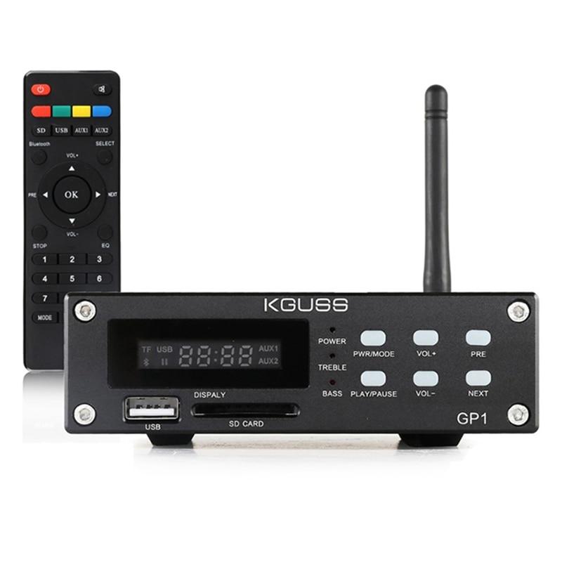 Kguss Gp-1 2.1 canaux Bluetooth amplificateur Audio de puissance numérique Hifi haute fidélité petit amplificateur de puissance-prise américaine