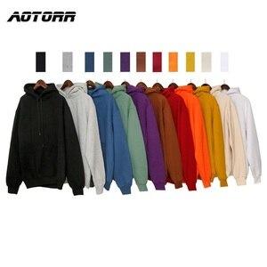Autumn Harajuku Hoodies Sweatshirt Men Hoodie Spring Autumn Solid Color Hooded Sweatshirts Male Casual Fleece Top 2020 polerones