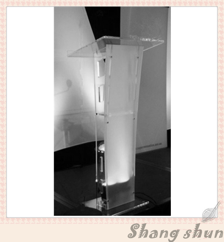Clear Acrylic Lectern Customized Acrylic Podium Acrylic Podium Stand Acrylic Speaker Stand