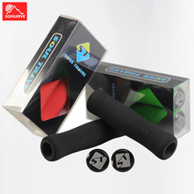1 pair Sponge Bicycle Handlebar Grips Ergonomic MTB BMX Road Bike Grips Cycling Wave Anti slip Mountain Bike Handlebar Grips