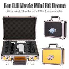 Ouhaobin водонепроницаемый чехол для костюма сумка жесткий алюминиевый чехол для переноски для DJI Mavic mini RC Drone аксессуары 1118#2