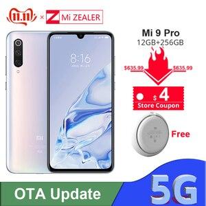 Image 1 - Оригинальный Xiaomi Mi 9 Pro 5G Snapdargon 855 Plus, 12 Гб ОЗУ, 256 Гб ПЗУ, 48мп, камера AI, аккумулятор 4000 мАч, смартфон