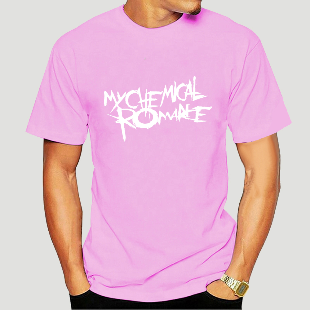 2021 100% cotton O-neck T-shirt Novo meu romance químico 6 eua tamanho em1 (1)-2646a