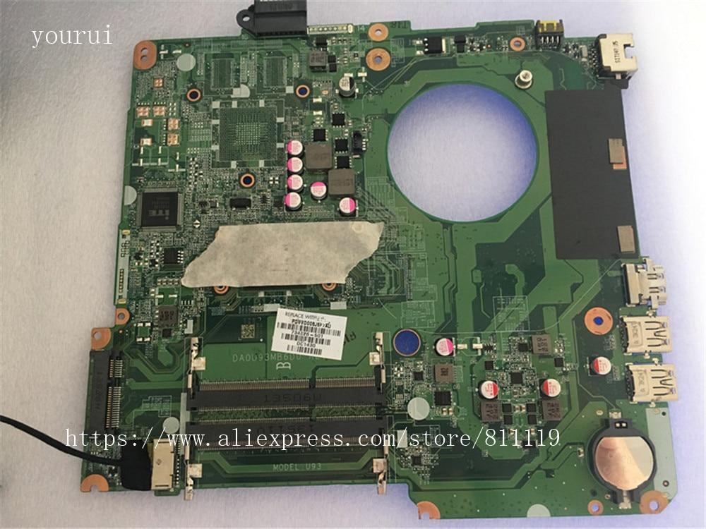 Материнская плата yousui 734826-001 734826-501 734826-601 DAOU93MB6D0, материнская плата для HP 15-N laptopматеринская плата с ЦП для ПК на 100% протестирована, с помощью ...