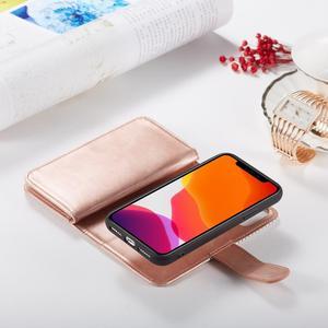 Image 4 - 9 posiadacz karty portfel etui na Apple iPhone 11 Pro Max Xs X XR 8 7 6 6S Plus 5 5S SE etui z klapką ze skóry odpinany magnetyczny futerał na telefon