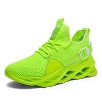 G133 Green-Outdoor Men Sports Shoes High Quality Lace-up Breathable Sneakers