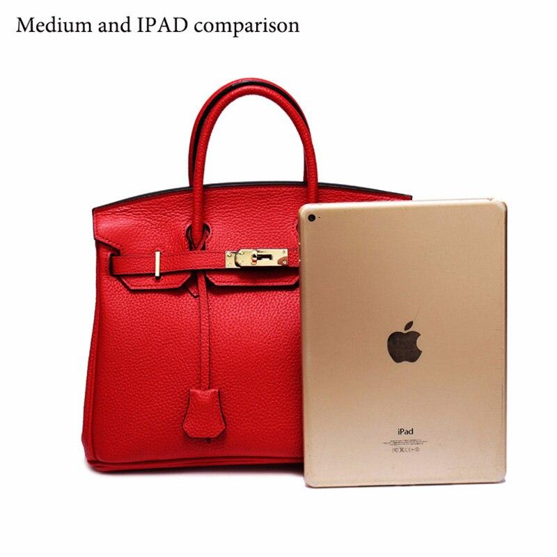 Женская сумка из натуральной кожи 2019, роскошные сумки через плечо, дизайнерский замок сумки через плечо, клатчи известных брендов, сумки - 2