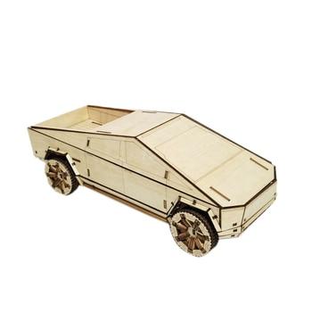 Rompecabezas de madera 3D para coches mecánicos, Kits de modelos de rompecabezas, Kits de construcción de vehículos, regalo único para niños y adultos