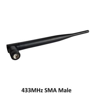 Image 5 - 5 pces 433 mhz antena 5dbi sma conector macho dobrável 433 mhz antena direcional + 21cm RP SMA/u. fl trança cabo