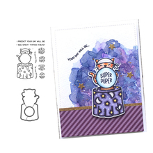 лучшая цена JCarter Metal Cutting Dies and Rubber Stamps Scrapbooking Cat Super Duper Craft Stencil Card Making Decoration Die Cut 2019 New