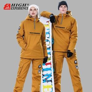 Image 5 - Winter Suit Women Ski Suit Men Snowboard Jacket Women Sport Suit Ski Jacket Women Skiing And Snowboarding Snow Clothes Female